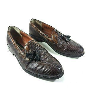COPY - Stacy Adams Genuine Snake Skin Loafers Men…
